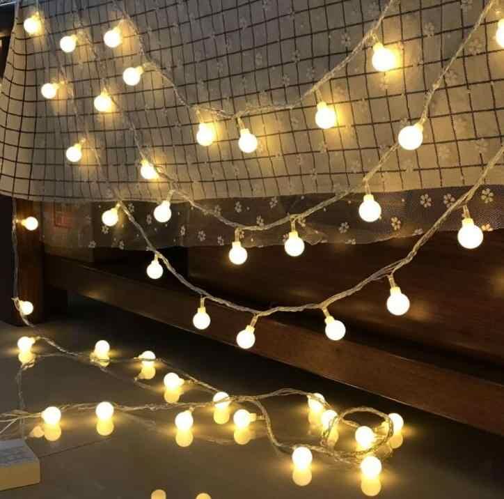 3m 20led Led bal string light sky star Christmas star lamp INS decorative light