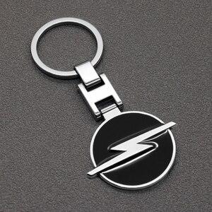 Porte-clés de voiture en métal 3D 1 pièce   Emblème de voiture pour Opel Corsa Insignia Astra Antara Meriva, accessoires de voiture