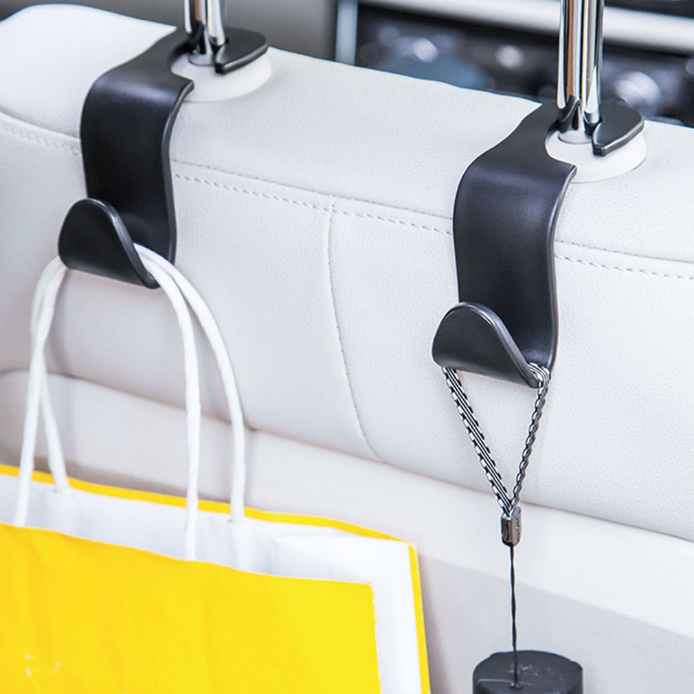 Universal Car Seat Back Hook Hanger Bags Holder Headrest Mount Hook Storage Organizer Car Internal Accessories