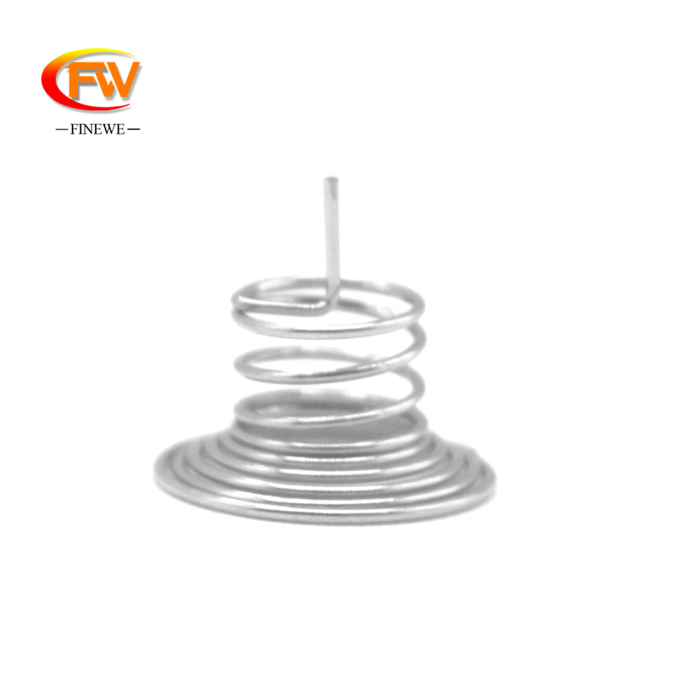 Finewe 100pcs/lot 0.4mm Nickel Plating Wire PCB Contact Springs compression touch button spring for PCB