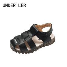 Детские пляжные сандалии с закрытым носком спортивные для мальчиков