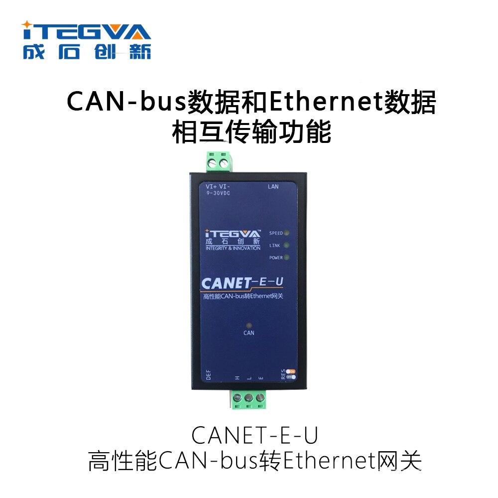 Porta de Rede Ethernet para Módulo Canbus para Rede Canet-e-u Ethernet Can
