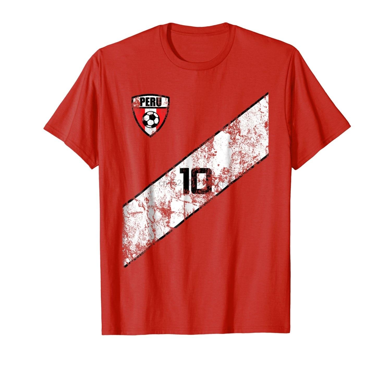 >Men <font><b>2018</b></font> New Short Sleeve Cotton <font><b>Print</b></font> Men T-Shirt <font><b>Peru</b></font> Soccers Jersey Shirt Peruvian Team 3D <font><b>Print</b></font> Interesting