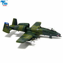 Terebo 1:144 a-10 aircraft model alloy simulation finished military ornaments collection gift terebo 1 100 squad fighter model alloy aircraft model simulation finished military ornaments collection gift