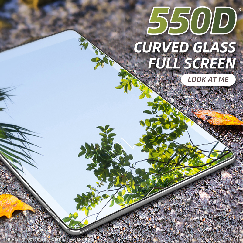550D Curved Screen Protector Glass For iPad 10.5 mini 5 4 Air 3 2 1 Tempered Glass For iPad Pro 11 10.5 9.7 2017 2018 2019 Film image
