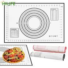 HILIFE Küche Gadgets für Rolling Teig, Der Pizza Nudeln Cookie Gebäck Backen Matte Backformen Silikon