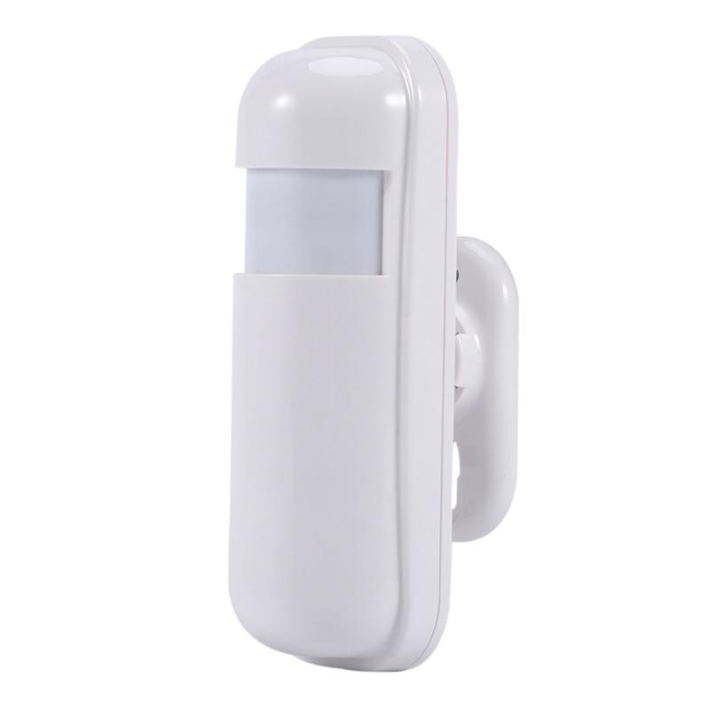 OPQ-Wireless Infrared Detector 433MHz Motion Sensor For PG103 W2B Wifi GSM Home Burglar Alarm System