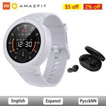 AMAZFIT Verge Lite akıllı saat küresel sürüm IP68 su geçirmez çok spor Smartwatch Bip 2 GPS sağlık izci