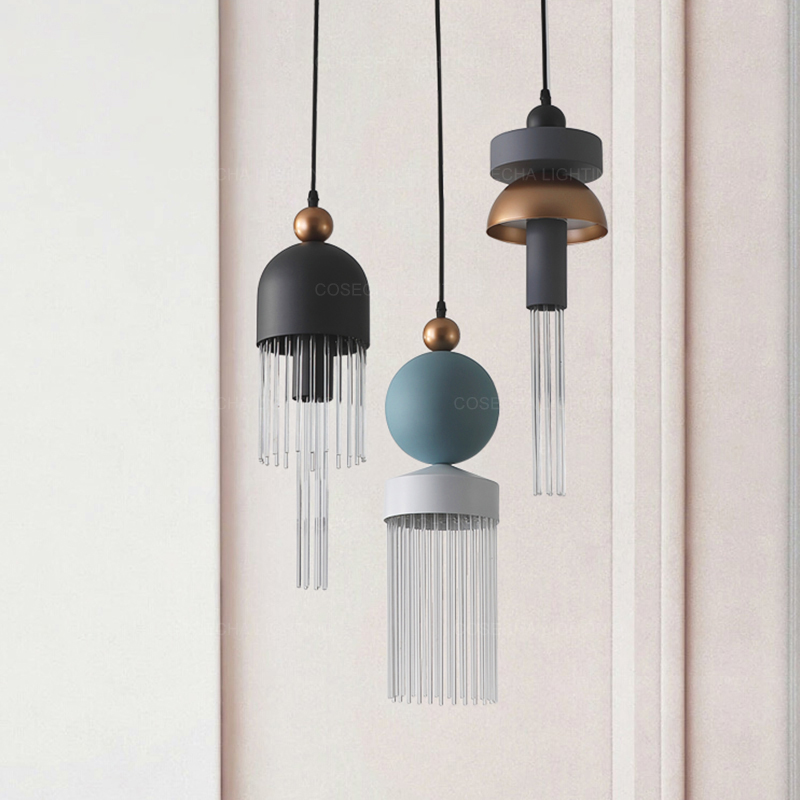 Unique Pendant Light Led Modern Glass Pendant Lamp Mimi/small Hanging Light In Kids'/childrens' Room Creative Fashionable Design