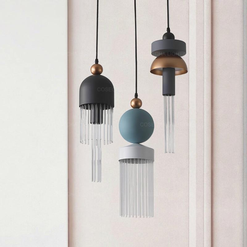 Unique Pendant Light Led Modern Glass Pendant Lamp Mimi/small Hanging Light In Kids'/childrens' Room Creative Fashionable Design