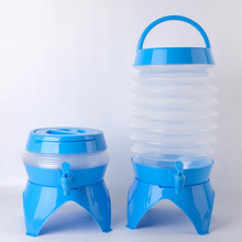 Water Tank Foldable Bucket Water Container with Faucet Camping Hiking Water Bucket Fishing Travel Carrier Drinking Water Bucket