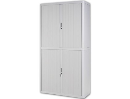 WARDROBE FAST-PAPERFLOW STRUCTURE STEEL AND POLYESTER WITH 4 SLIDING DOORS COLORBLANCO 2040X1100X415 MM