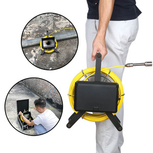 Image 2 - MAOTEWANG10M/20M/30M/40M/50M Industrial Pipe Sewer Inspection Video HD 1080P Camera with Meter Counter/ DVR Video/Photo Editing