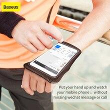 Baseus armband чехол для мобильного телефона на айфон 7 6s спортивная повязка для мобильного телефона сумка работает браслет спортивный чехол на яблоко айфон 7
