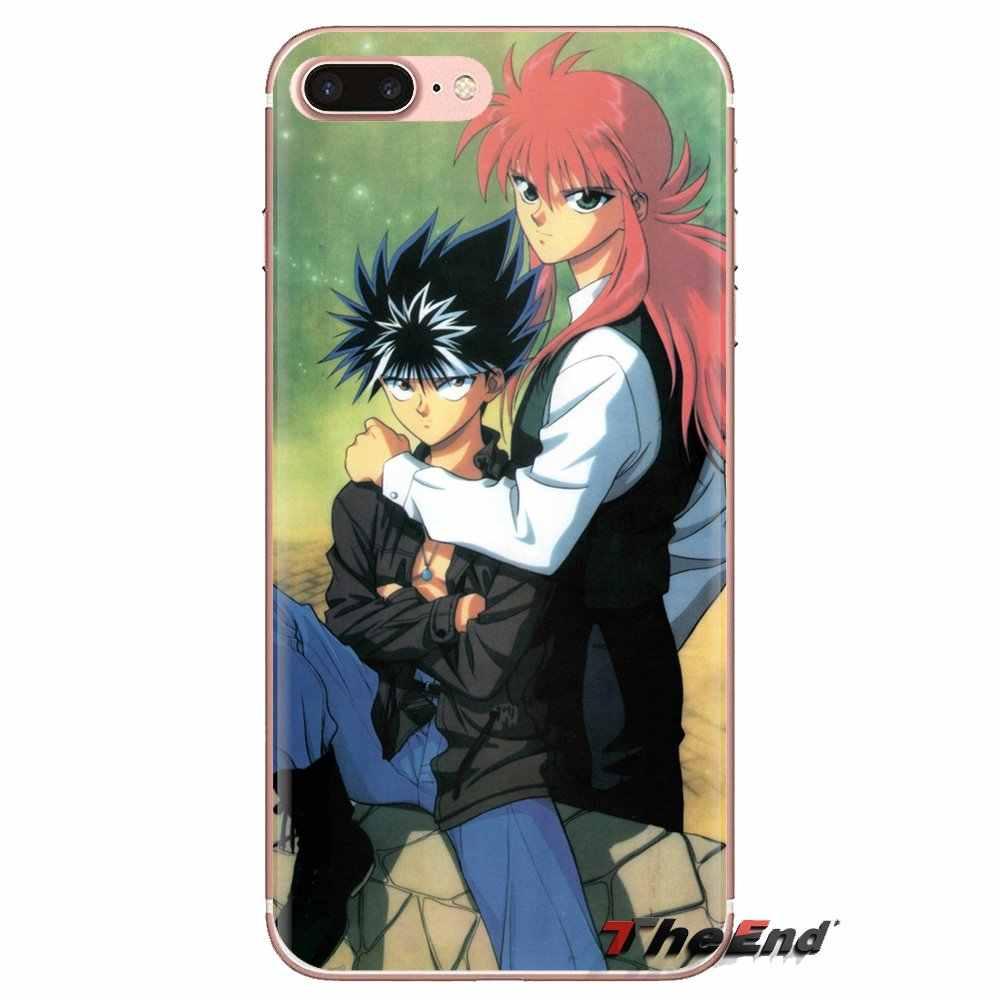 Yu Yu Hakusho anime wallpaper For Xiaomi Mi3 Samsung A10 A30 A40 A50 A60 A70 Galaxy S2 Note 2 Grand Core Prime Mobile Phone Case