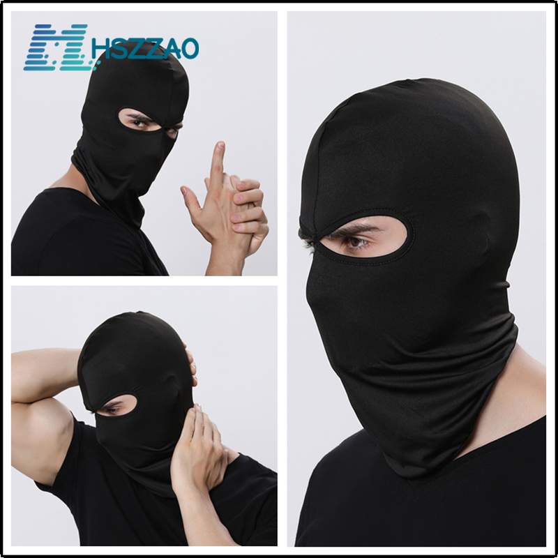 Motorcycle dust mask Riding Outdoor Dual-hole headgear hat windproof outdoor riding headgear face mask