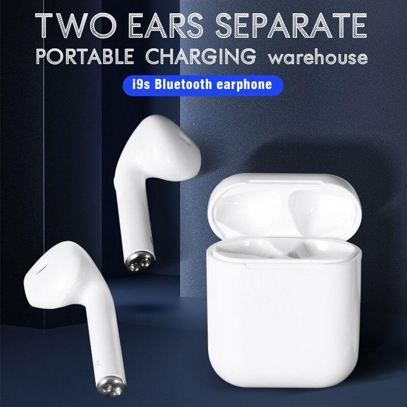 I9s Tws Drahtlose Bluetooth 5,0 Kopfhörer für alle smartphones Mini Ohrhörer sport headset für Xiaomi iPhone mit Lade Box