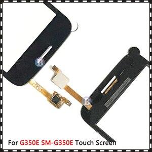 """Image 5 - 4.3 """"삼성 갤럭시 DUOS 스타 어드밴스 G350E SM G350E 터치 스크린 디지타이저 센서 외부 유리 렌즈 패널 블랙 화이트"""