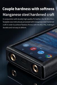 Image 3 - FiiO SK M11 Pro Funda de cuero para reproductor de música M11 Pro, portátil, PU