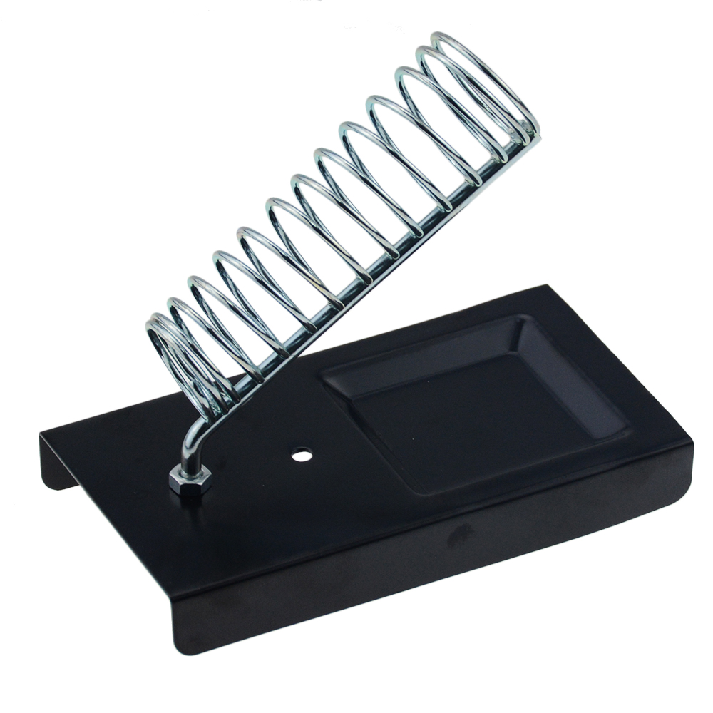 Electric Soldering Iron Stand Holder Metal Support Station With Solder Sponge Soldering Iron Frame Small And Simple