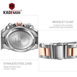 Image 3 - Bayanlar bilek saatler üst marka lüks iş kadınları saatler 3ATM yeni moda kadın saat çelik bilezik Relogio Feminno 836