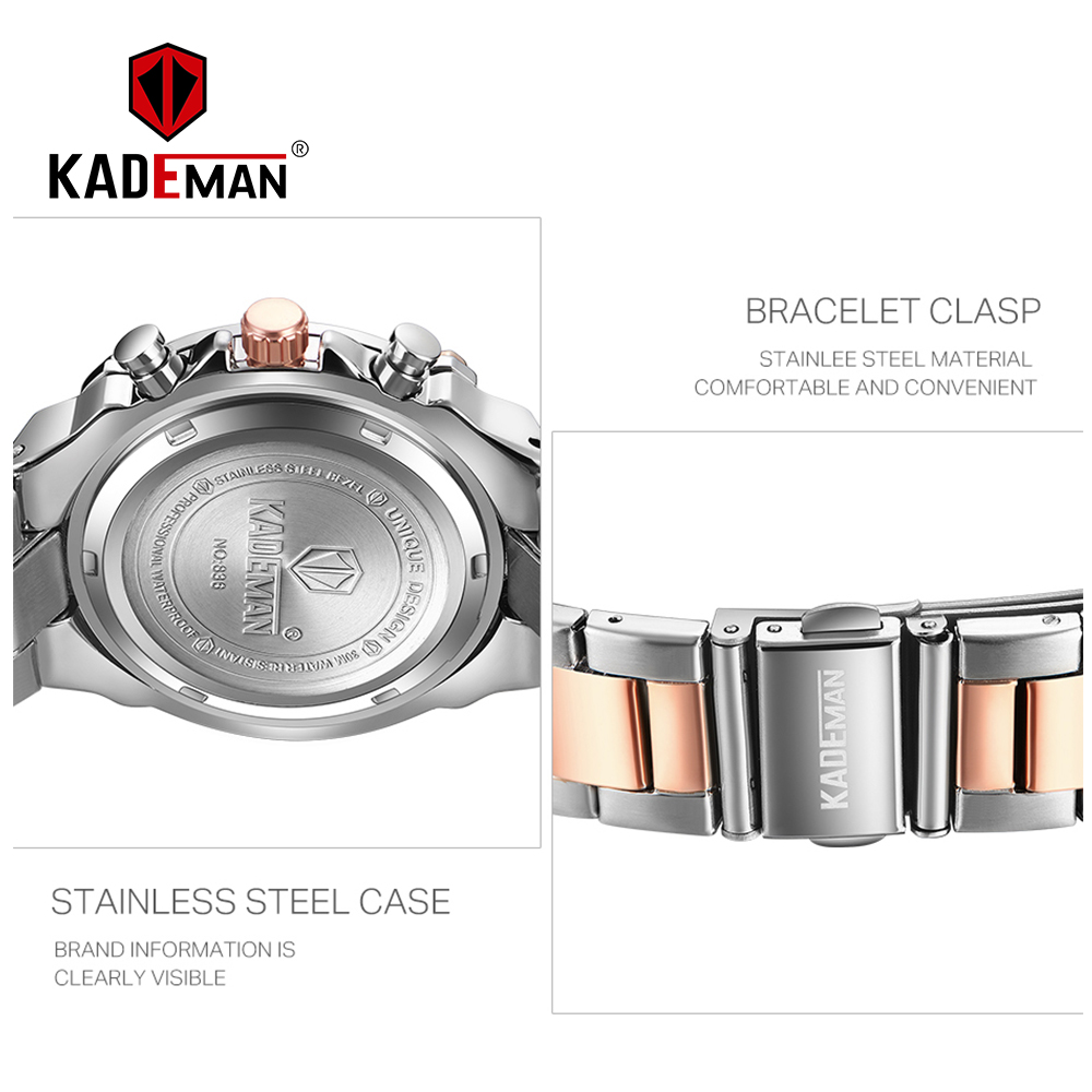 Image 3 - Ladies Wristwatches TOP Brand Luxury Business Women Watches 3ATM New Fashion Female Clock Steel Bracelet Relogio Feminno 836Womens Watches   -