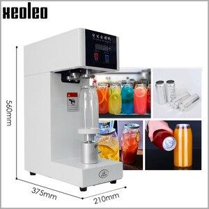 Image 3 - XEOLEO máquina selladora de latas de 55mm, selladora de botellas de bebida para 330ml/500/650ml, sellador de latas de té de la leche PET/Café, 220V/110V