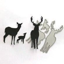 Deer Metal Cutting Dies for Card Making