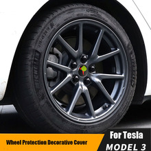 Screw-Cover-Kit 20-Lug-Nut-Covers 4-Hub-Center-Cap Tesla-Model Rims Car-Wheel-Hub