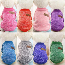 Coat Pet-Cat-Jacket Clothing Sweater Dogs-Vest Puppy Winter Fashion Soft for Small Dropship