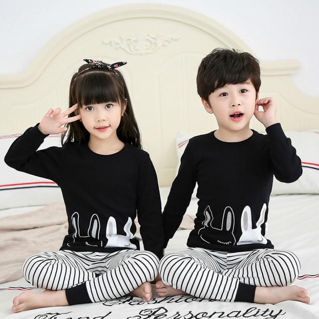 Pijamas de los niños de Otoño de niñas niños 5