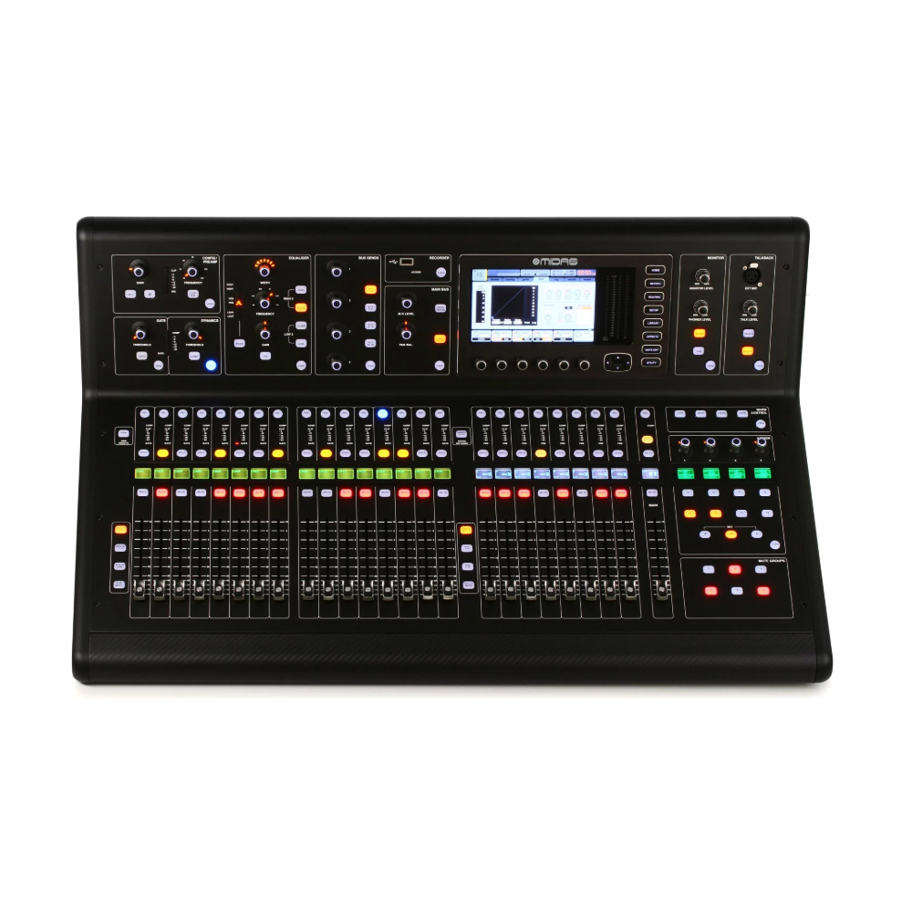 Midas M32 Digital Sound Mixing With LCD and TFT Displays For Concert Live Show