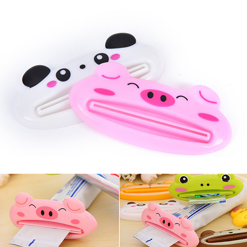 Creative Portable Multifunction Cartoon Cosmetic Extruder Unisex Organizer Journey Security Accessor Lazy Travel Accessories