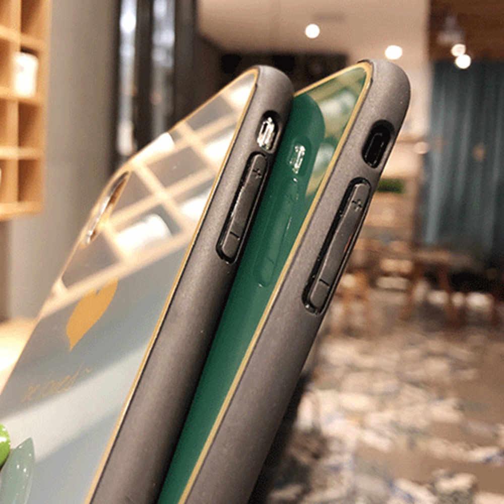 Kisscase Kính Cường Lực Dành Cho iPhone XR XS Max X 10 11 Pro Max Full Phủ Sóng Cho iPhone 8 7 6 6 S 6 S Plus Nữ Tính Bao Coque