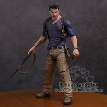 NECA Uncharted 4 A Thief S End NATHAN DRAKE Ultimate Edition PVC Action Figureของเล่นสะสม18ซม.
