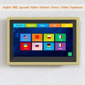 Image 2 - Diagonsview Wifi Video Intercom IP Wireless Video Door Phone for Home Security System  10 inch Touch Screen  1080P Door Intercom