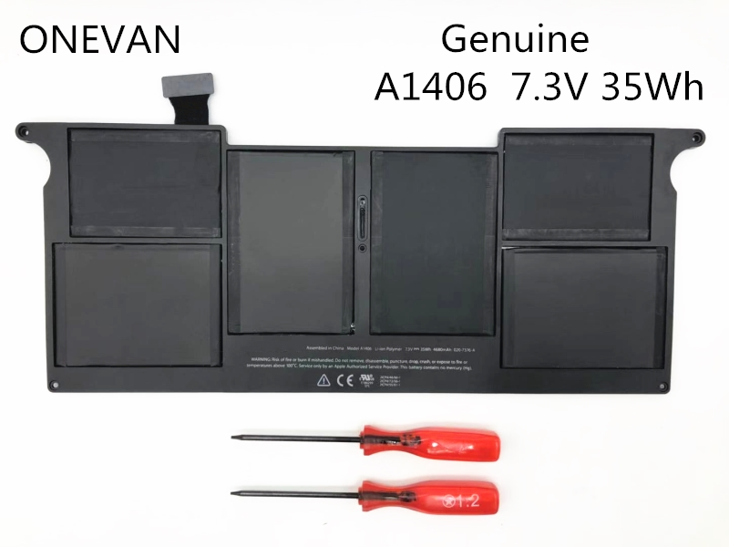 ONEVAN 7.3V 35Wh A1406 A1495 Laptop <font><b>Battery</b></font> For APPLE <font><b>Macbook</b></font> <font><b>Air</b></font> <font><b>11</b></font>