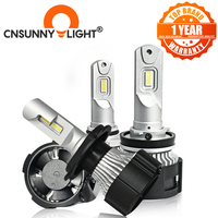CNSUNNYLIGHT H11 H7 Canbus LED Car Headlight H4 H8 9005 HB3 HB4 D1 9012 Bulbs 104W 9000Lm Super Lights 6500K Foglamp Accessories