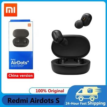 Xiaomi Airdots S Tws Redmi Airdots Pro 2 słuchawki bezprzewodowe słuchawki Bluetooth 5 0 zestaw słuchawkowy do gier z mikrofonem sterowanie głosem słuchawki tanie i dobre opinie Tłok douszne NONE Dynamiczny CN (pochodzenie) Prawdziwie bezprzewodowe 121dB 60mW Do gier wideo Zwykłe słuchawki do telefonu komórkowego