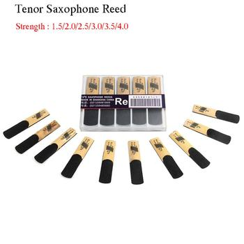 10 Pack Tenor Saxophone Reeds Strength 1.5,2.0,2.5,3.0,3.5,4.0 for Sax Saxophone Reed Woodwind Instrument Parts Accessories protect deluxe tenor saxophone bag black