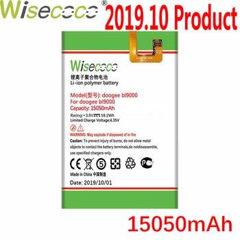 Batería de 15050mAh WISECOCO para teléfono móvil Doogee BL9000 en Stock, la última producción, batería de alta calidad + número de seguimiento