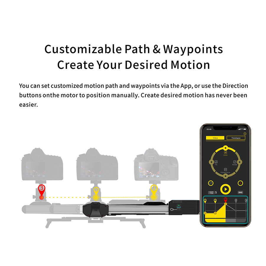 Image 4 - In Stock Zeapon Motorized Micro 2 Rail Slider Portable Aluminum Alloy for DSLR Mirrorless Camera w/ Easylock 2 Low Profile MountRail Systems   -