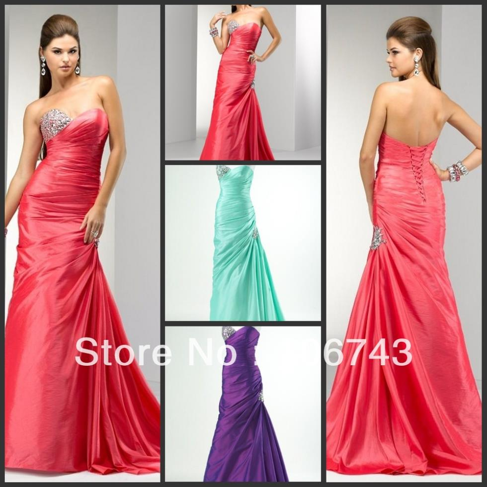 Free Shipping 2018 Cute Best Seller New Style Best Bride Custom Size Crystal Purple Bandage Party Gown Bridesmaid Dresses