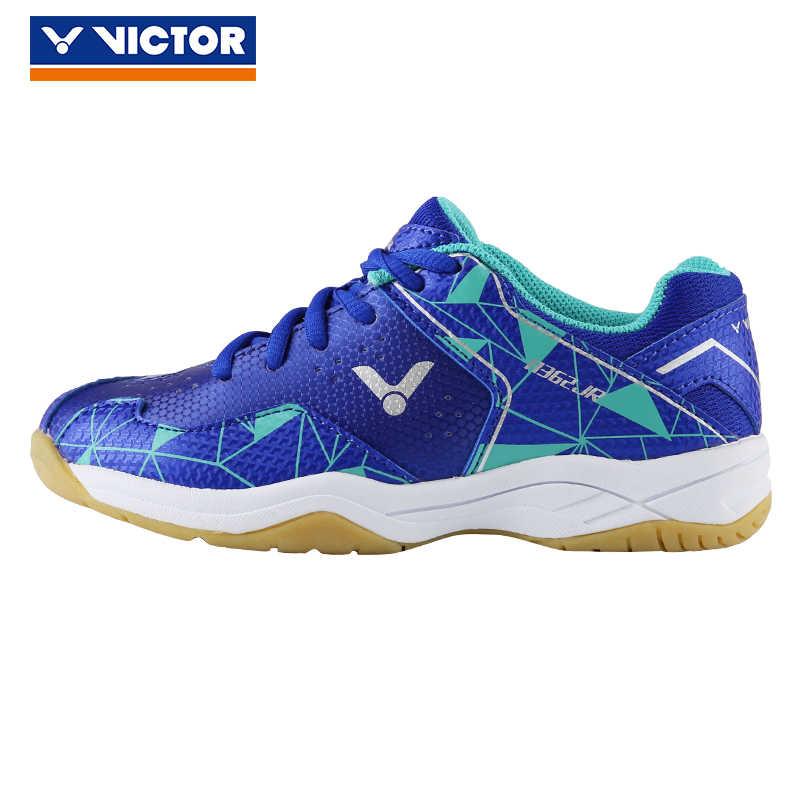 Original Victor Badminton Schuhe Kind Schuhe Jungen Mädchen Kinder Sport Turnschuhe Baby Mädchen Atmungsaktive Kinder Tennis Schuhe A370jr