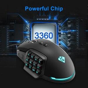 Image 2 - Rocketek usb rgb 有線ゲーミングマウス 24000 dpi 16 ボタンレーザープログラマブルゲームマウスバックライト人間工学ラップトップ pc のコンピュータ