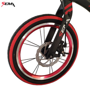 Image 5 - 16 inch SEMA carbon childrens bicycle super light fit 4 years to 9 years boy and girl bike carbon handlebar carbon seat post