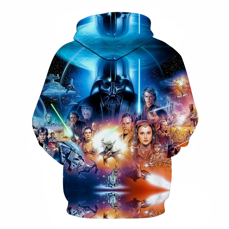 3D Printed Star Wars Hoodies Men&Women 18