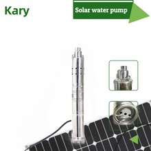 Dc 24v lift 50m 0.5hp flow 3000l/h solar water pump for deep well and agricultural irrigation with smart controller(China)