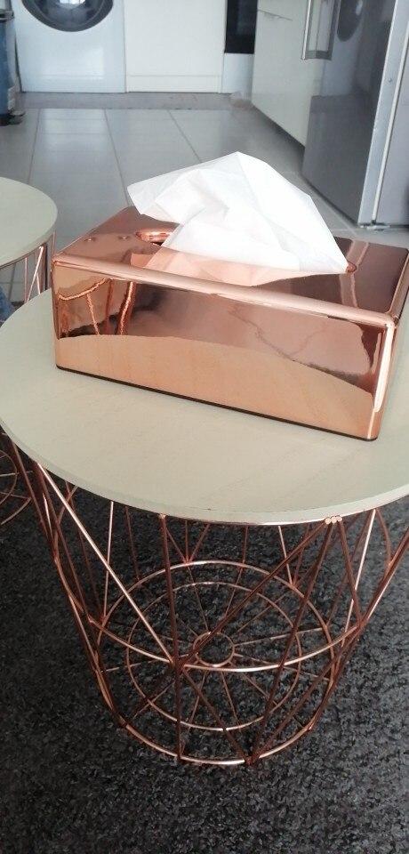 Бумажная стойка элегантная королевская розовая Золотая Автомобильная домашняя коробка для салфеток прямоугольной формы контейнер полотенце салфетка держатель для салфеток