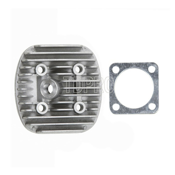 80cc cilindro cubierta de la cabeza y Junta de ajuste para 66cc 80cc motor de 2 tiempos motorizado bicicleta